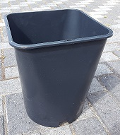 10l-black-square-pot