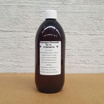 Hydrogen Peroxide 50 percent 500ml