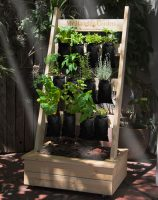 My Hanging Garden Vertical Hydroponic System