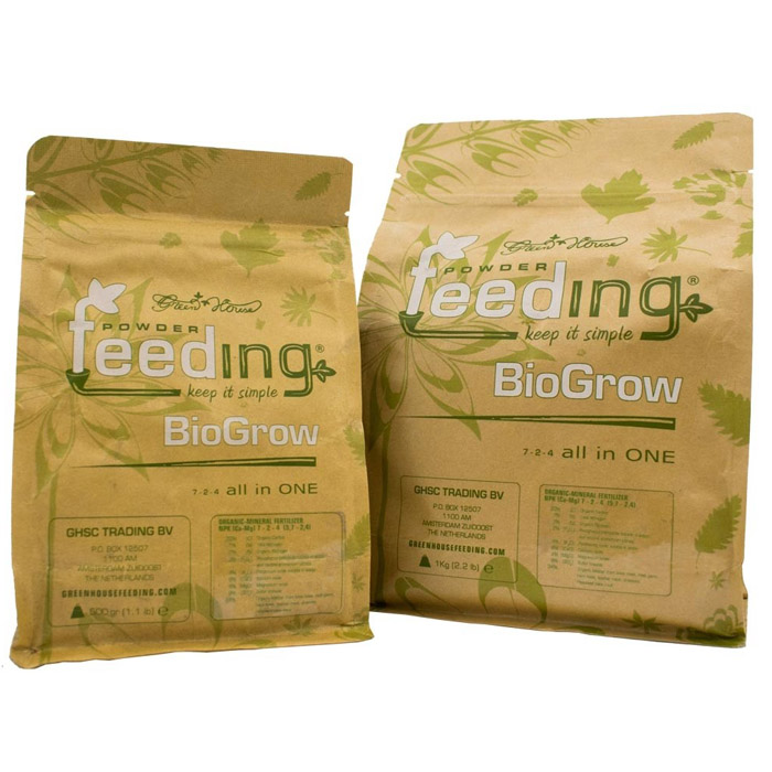 Green House Powder Feeding – BioGrow