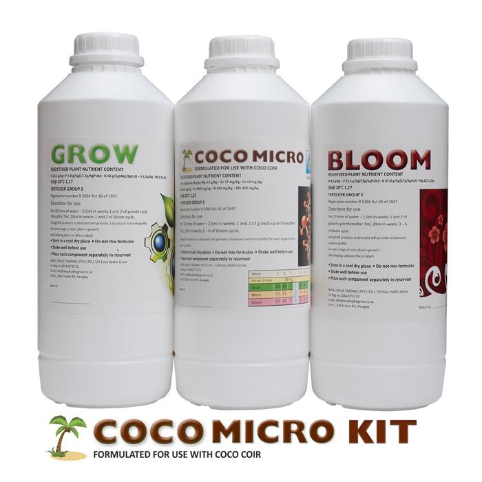 EHG Coco Nutrient Kit