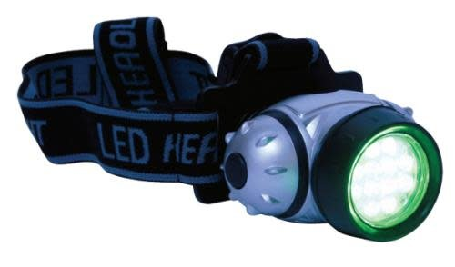 Green LED Headlamp