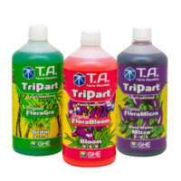 Terra Aquatica Tripart Series 1L Nutrient Kit Hard Water