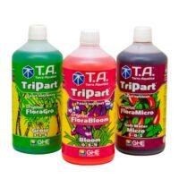 Terra Aquatica Tripart Series 1L Nutrient Kit Soft Water