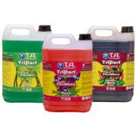 Terra Aquatica Tripart Series 5L Nutrient Kit Soft Water