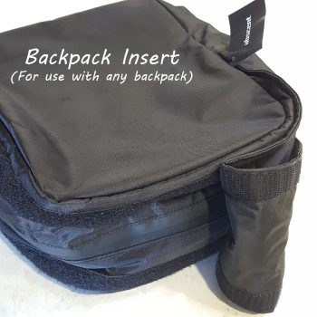 Abscent Backpack Insert Standalone Black