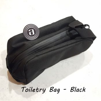 Abscent Toiletry Bag Black