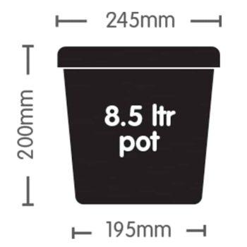 Autopot 8.5lt Plastic Pot Dimensions