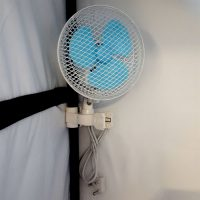 Oscillating Clip Fan