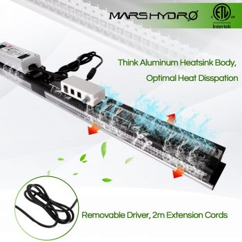 Mars Hydro SP 3000 led grow light - thick heat sink- 6