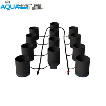 Autopot 12 x SmartPot XL Aquavalves 5 System without Tank
