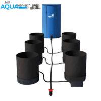 Autopot 6 x SmartPot XL Aquavalve 5 System