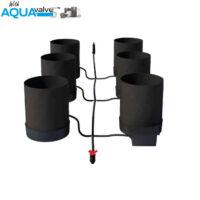 Autopot 6 x SmartPot XL Aquavalve 5 System without Tank