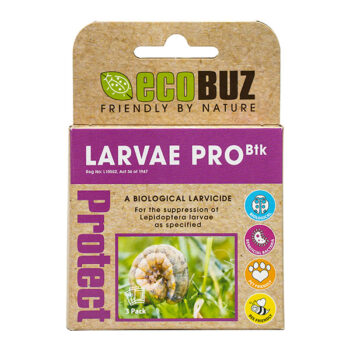 EcoBuz Larvae Pro Pack of 3 x 4g Sachets
