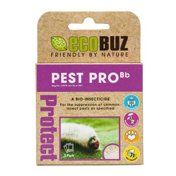 EcoBuz Pest Pro Pack of 3 x 2g Sachets