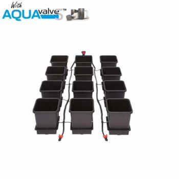 12Pot System AQUAValve5 with 15L Pots without Tank