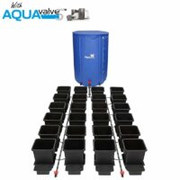 24Pot System AQUAValve5 with 15L Pots