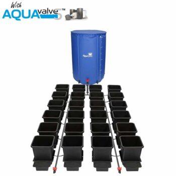 24Pot System AQUAValve5 with 15L Pots