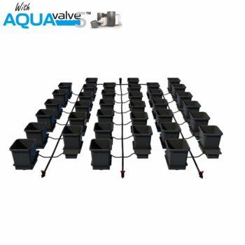 36Pot System AQUAValve5 with 15L Pots without Tank