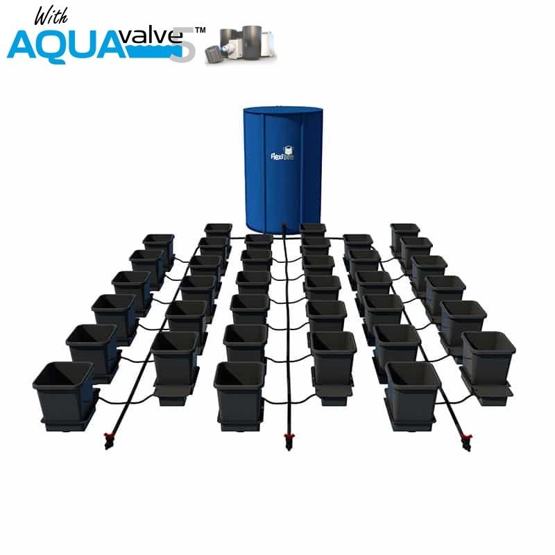 36Pot System AQUAValve5 with 15L Pots