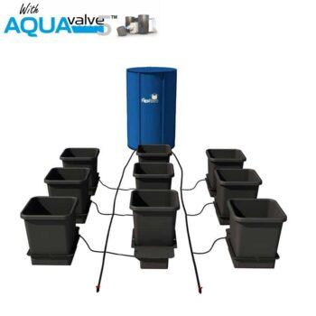 9Pot System AQUAValve5 with 15L Pots