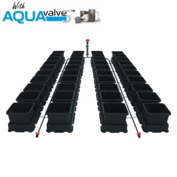Easy2grow 40 System AQUAValve5 with 8.5L Pots without Tank