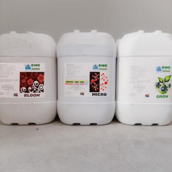 EHG 25Lt Nutrient Kit