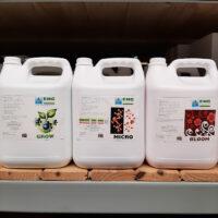 EHG 5Lt Nutrient Kit