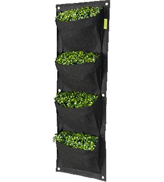 Garden HighPro Vertical Wall Propots 4Pot