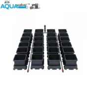 Easy2grow 24 System AQUAValve5 with 8.5L Pots without Tank