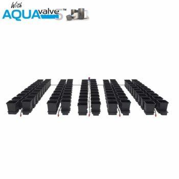 100Pot System AQUAValve5 with 15L Pots without Tank