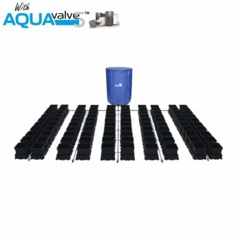 Easy2grow 100 System AQUAValve5 with 8.5L Pots