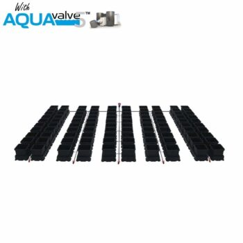 Easy2grow 100 System AQUAValve5 with 8.5L Pots without Tank