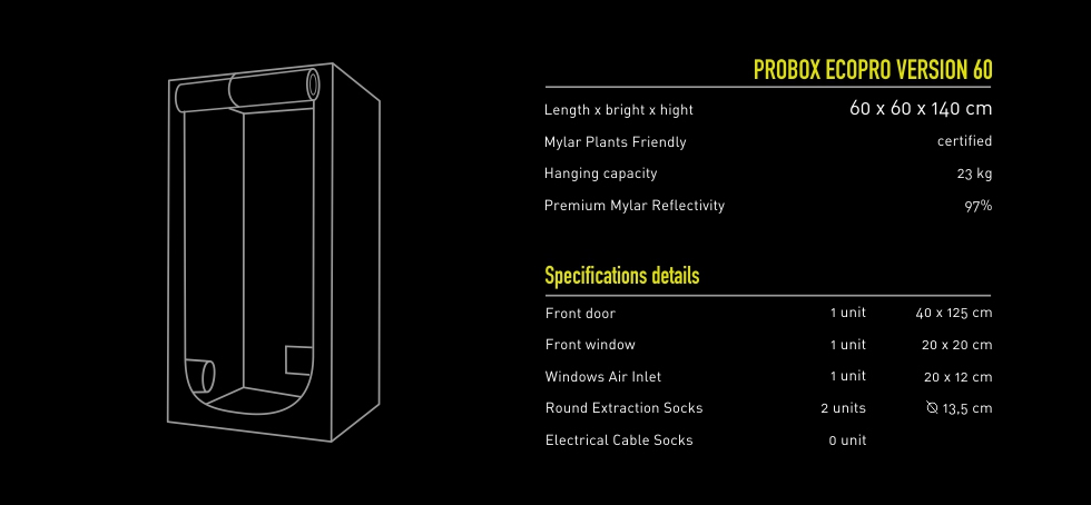 Garden HighPro ProBox EcoPro 60 Specs