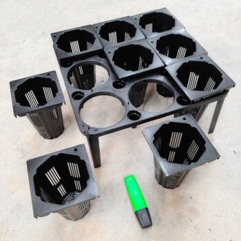RapidGrow Rooting Pots with Tray